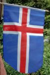 HAND WAVING FLAG - Iceland